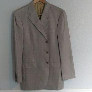 Gianluca Isaia Lt. Blue/Beige plaid Jacket
